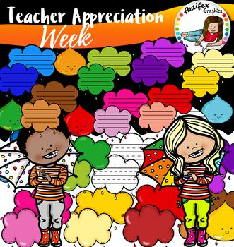 Teacher Appreciation Clip Art!! #1 #clipartfreebies