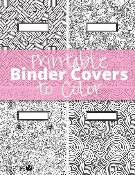 Printable binder covers to color   Printable binder covers ...