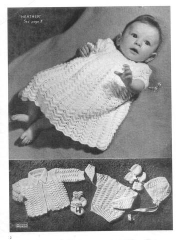 Patons 186 Vintage Baby Knits : Free Download, Borrow, and ...