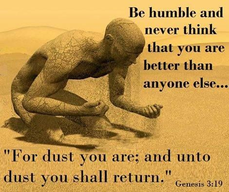 Image result for humble dust