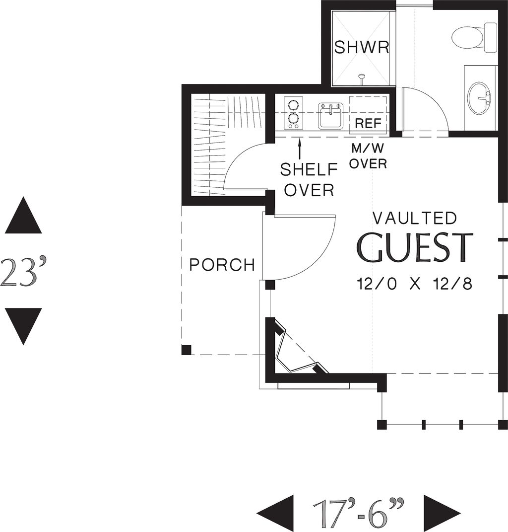 images about sq ft studio on Pinterest   Small houses       images about sq ft studio on Pinterest   Small houses  Tiny house and Floor plans