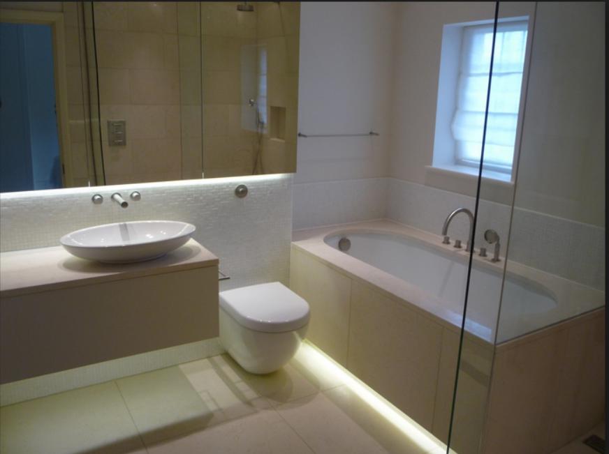 Nowoczesne łazienki Oświetlenie łazienki Zasady I