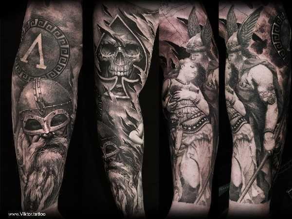 Mythologie tattoos germanische The Styles