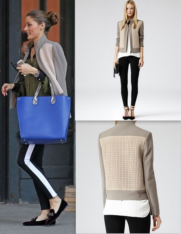 a8863fbc867 Olivia Palermo Mazzy Quilted Jacket   Things to Wear   How to wear ...