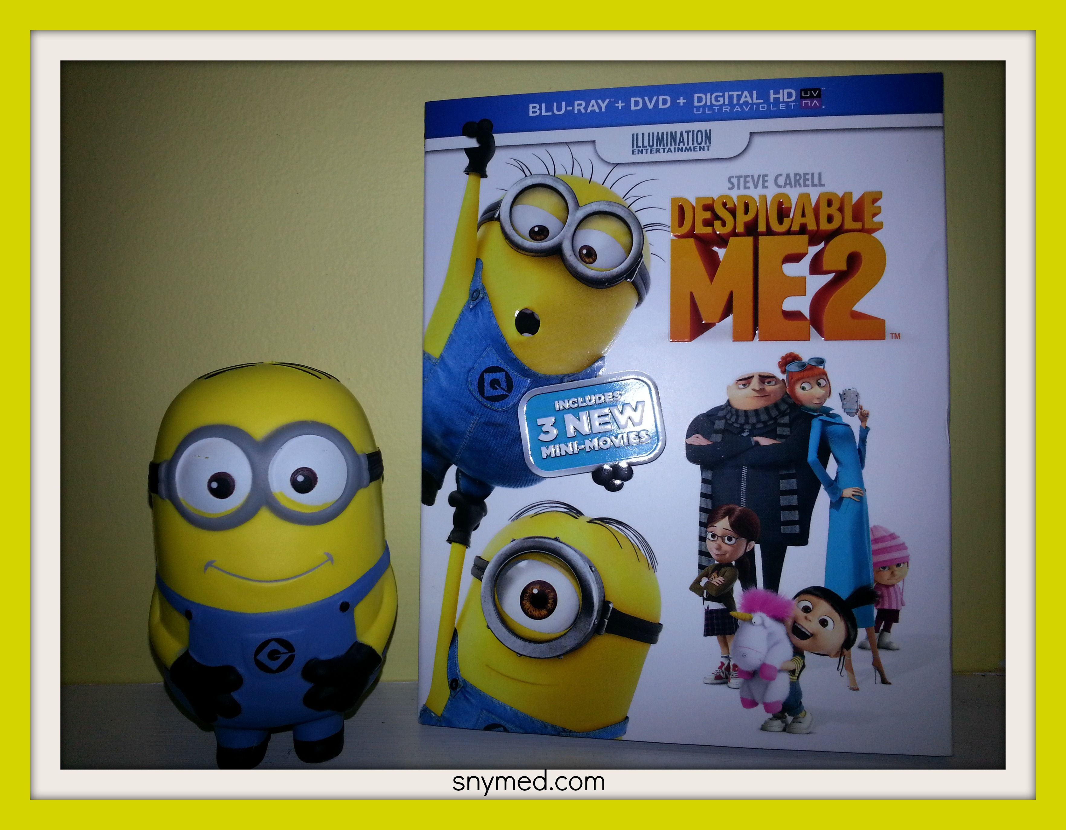 Despicable Me 2 is now on Blu-ray/DVD - just in time for Christmas ...