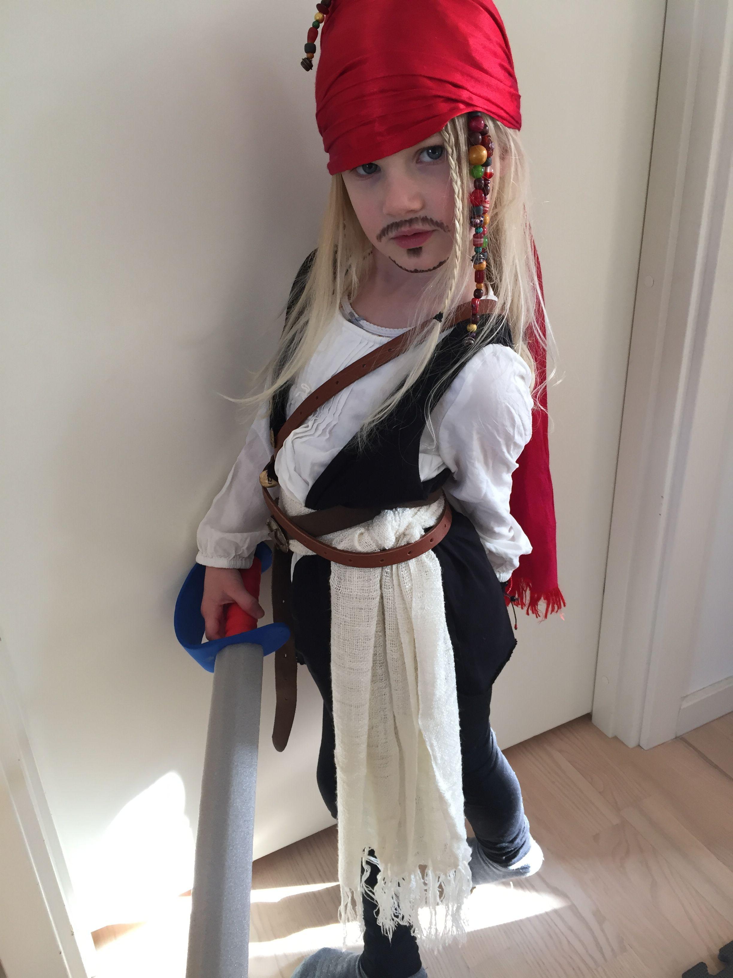 Jack Sparrow Diy Costume Kids Costumes Halloween Costumes