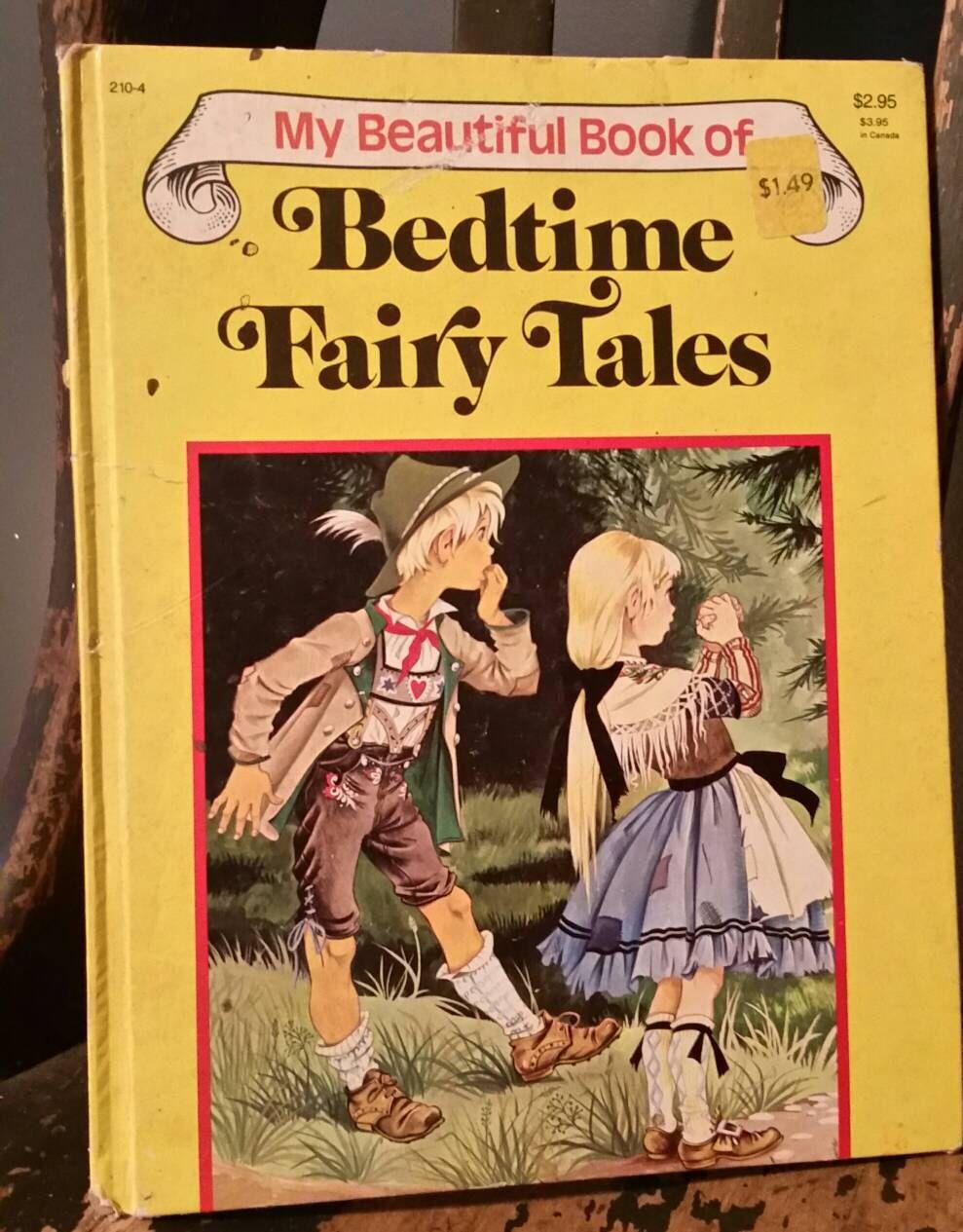 Vintage Playmore Inc My Beautiful Book Of Bedtime Fairy Etsy Books Fairy Tales Vintage Artwork