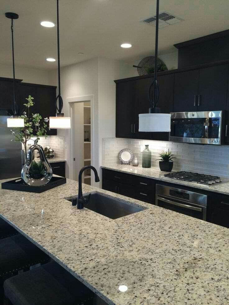 Counter And Cabinets Kitchens To Die For Dark Kitchen