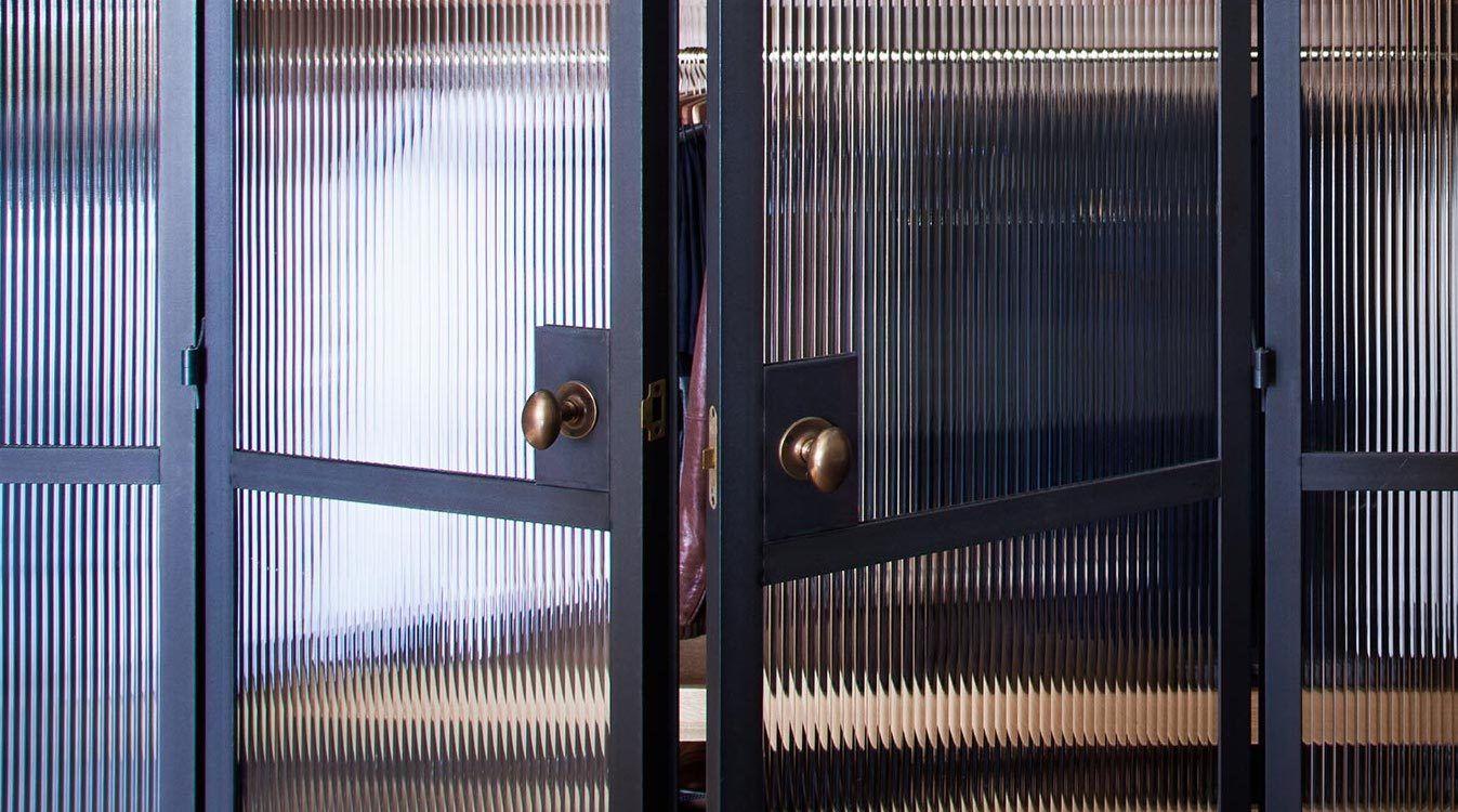 Steel Doors With Reeded Glass Reeded Glass Crittal Doors Steel Doors
