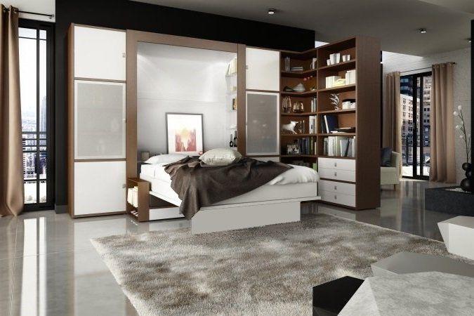 pingl par inside75 sur armoire lit gain de place lit. Black Bedroom Furniture Sets. Home Design Ideas