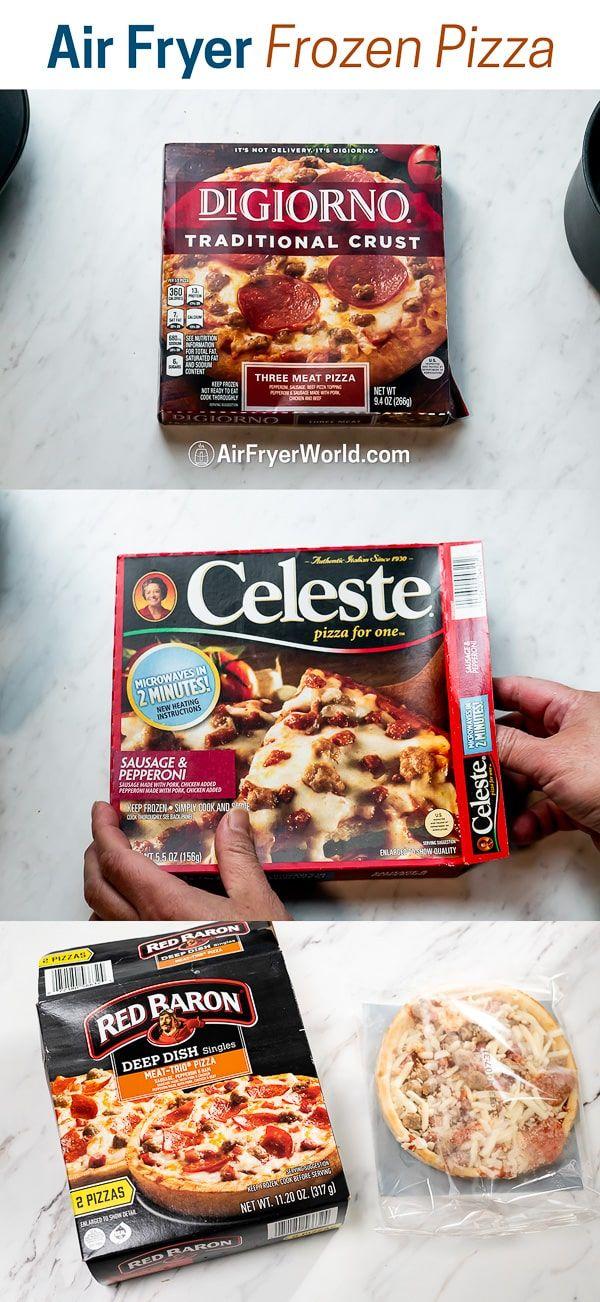 Air Fryer Frozen Personal Pizza Recipe in 2020 Frozen
