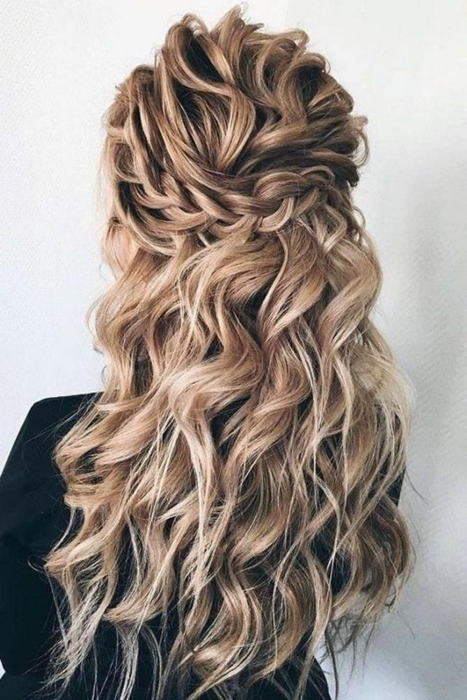 61 Easy Prom Hairstyles For Long Hair And Short Hair Elegant Ideas Lifestyle Woman 2019 14 Wedding Hair Down Wedding Hairstyles Down Hairstyles