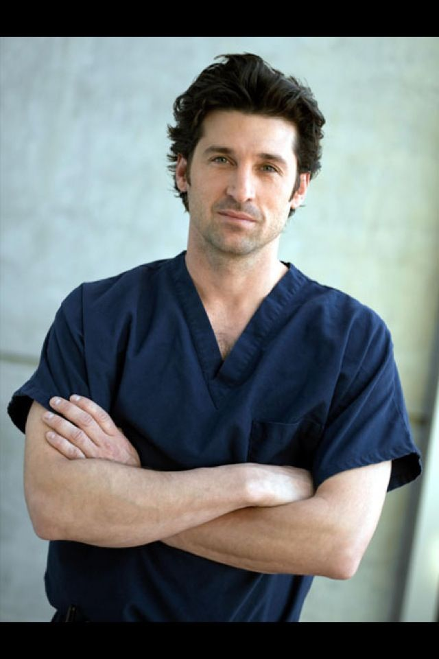 Day One: Favorite Male Character. Derek Shepherd. Look at him...need ...