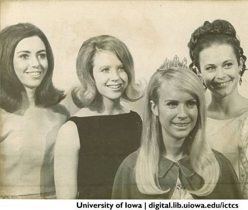 Homecoming Queen and Court 1960s   University of Iowa