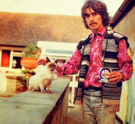 George and cat
