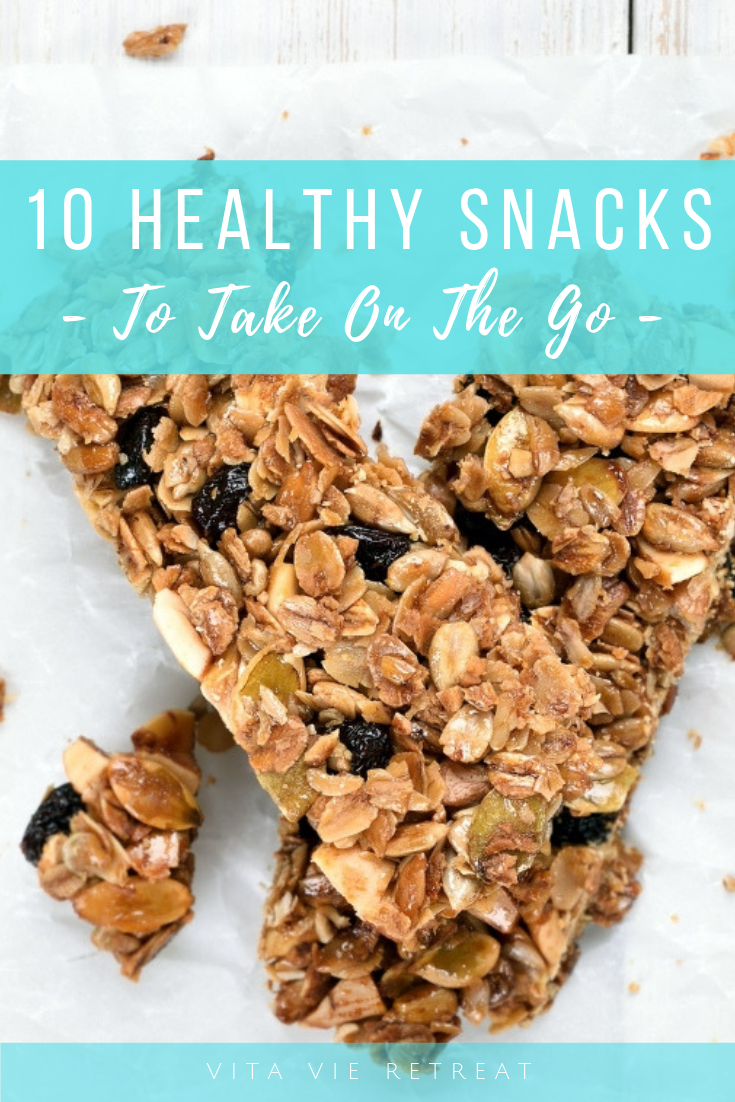 10 Healthy Snacks To Take On The Go images