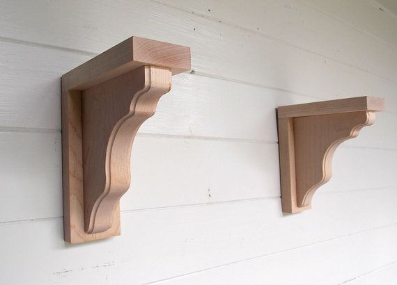 Your Place To Buy And Sell All Things Handmade Wood Shelves Wood Corbels Wood Shelf Brackets
