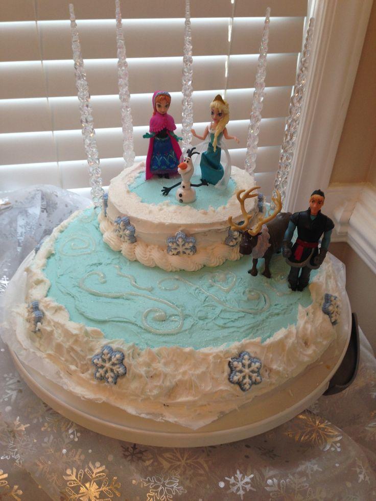 Diy Frozen Birthday Cake Disney Frozen Birthday Cake Fooddd