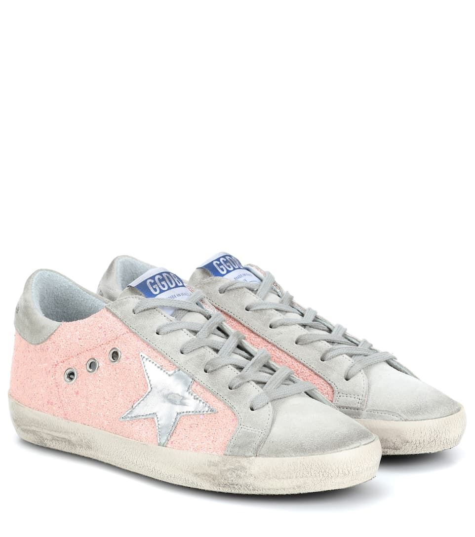 8a00dde18b32 Exclusive To Mytheresa.com – Superstar Leather Sneakers | Golden Goose  Deluxe Brand - mytheresa.com