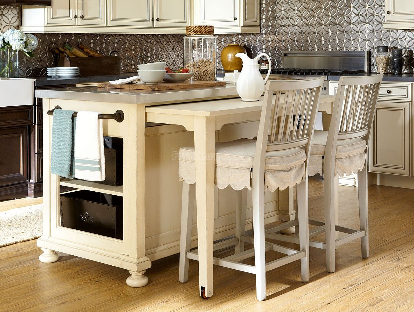 Paula Deen By Universal 394644 Kitchen Island   Goodu0027s NC Discount Furniture  Stores And Furniture Outlets