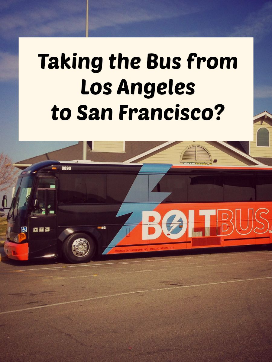Boltbus Another New Way To Get From Los Angeles To San Francisco