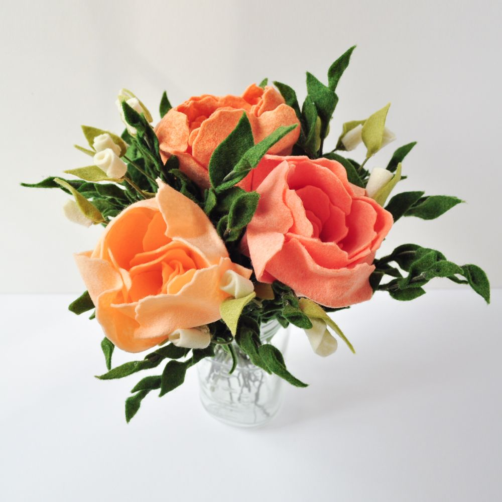 Peonies for mothers day ellywise studios felt flowers memphis ellywise studios felt flowers memphis wedding mightylinksfo