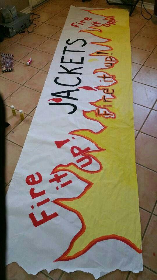Homecoming football banner …   - 69.5KB
