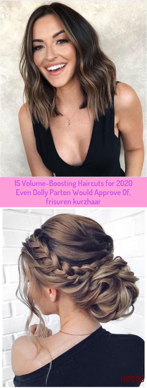 15 Volume-Boosting Haircuts for 2020 Even Dolly Parton Would Approve Of, frisuren kurzhaar #Approve #Dolly #frisuren mittellang 2020 #haircuts #Parton #VolumeBoosting