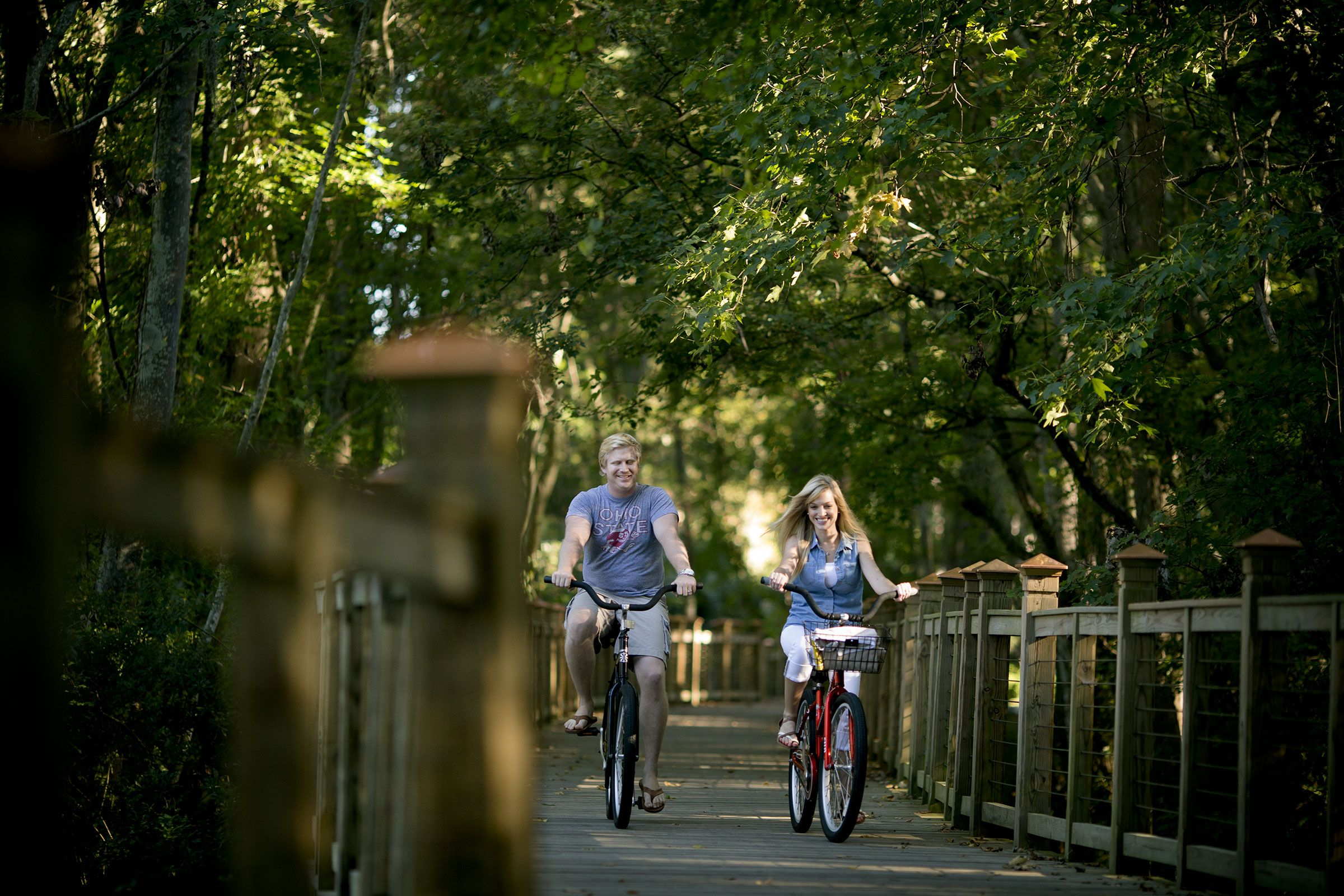 Hilton Head Island Is The Perfect Place To Enjoy Cycling With More Than 60 Miles Of Multi Use Trails Connect Hilton Head Island Hilton Head Travel Sweepstakes