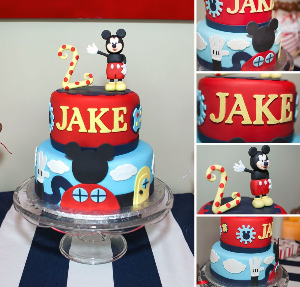 Julie Marie Portraits Jakes 2nd Birthday Party Mickey Mouse