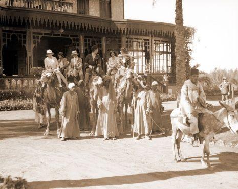 Cairo, tripje op een kameel