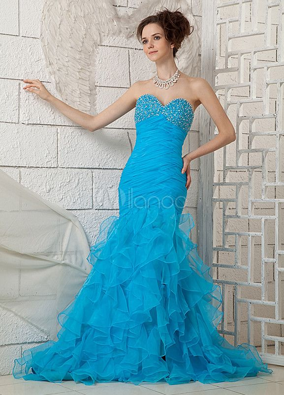 #Milanoo.com Ltd          #Prom Dresses             #Sexy #Blue #Mermaid #Trumpet #Sweetheart #Prom #Dress                        Sexy Blue Mermaid Trumpet Sweetheart Prom Dress                               http://www.seapai.com/product.aspx?PID=5688453