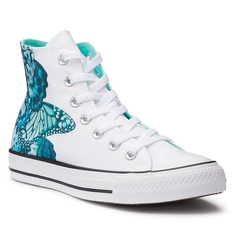 cd3146b01b10cd Women s Converse Chuck Taylor All Star Butterfly High Top Sneakers ...