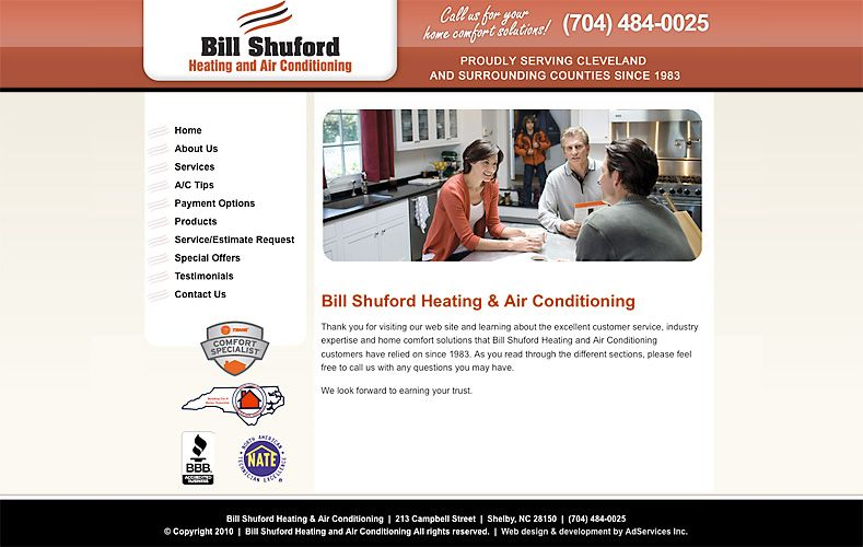 Website Testimonials Website Heating And Air Conditioning