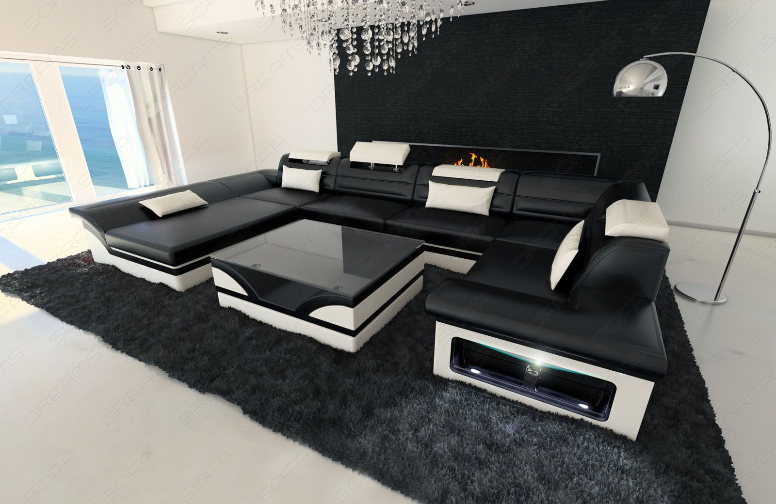 Modern Sectional Sofas White   Google Search