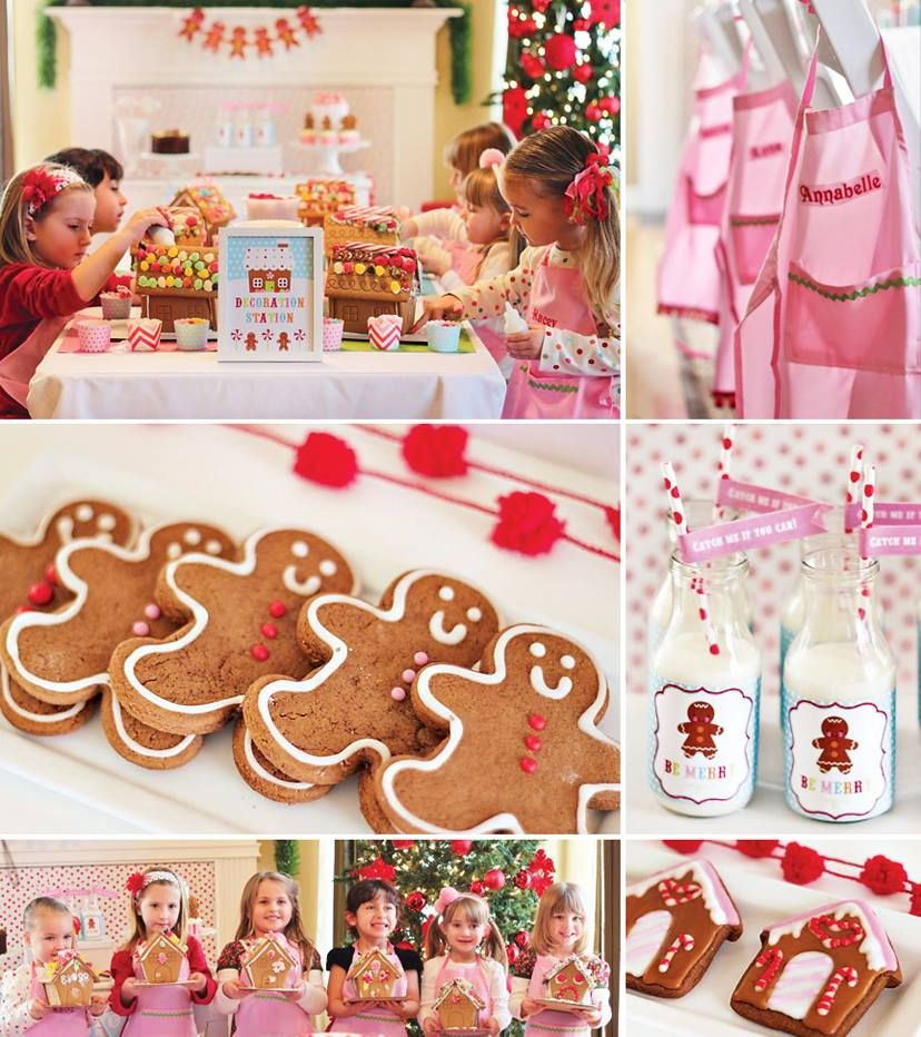 Delightfully Sweet Gingerbread House Decorating Party