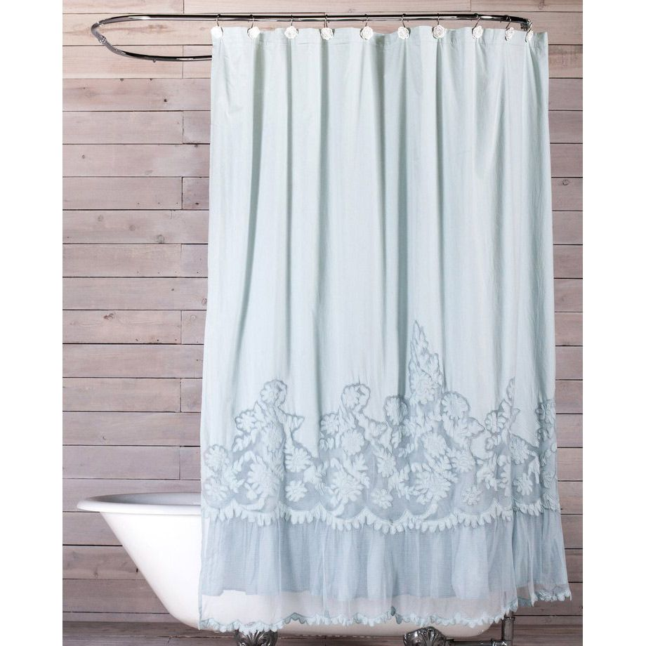 Pom Pom At Home Caprice Cloud Shower Curtain Laylagrayce Shabby