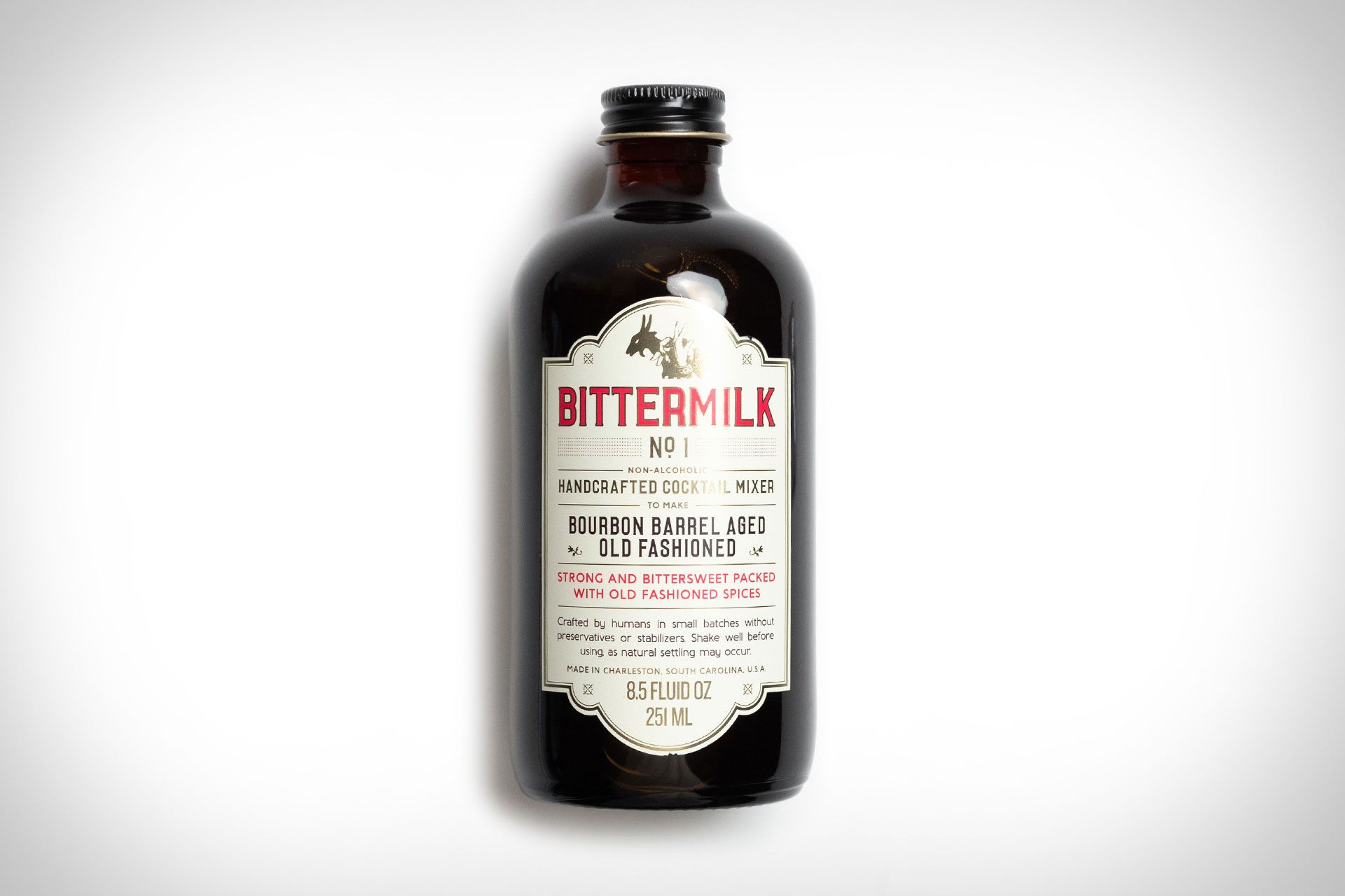 Bittermilk Bourbon Barrel Aged Old Fashioned Mix