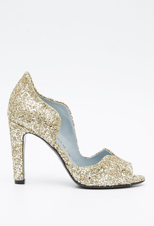 Scarlett Paillette Gold | Chaussures paillettes, Chaussures