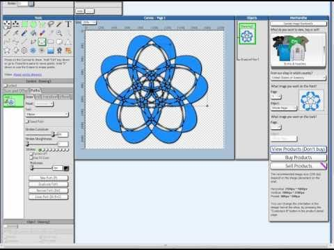 How To Draw With Fatpaint Online graphic design software and logo ...