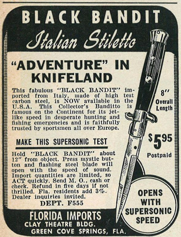 Switchblade Knife Ad Tattoo Pinterest Knives Ads