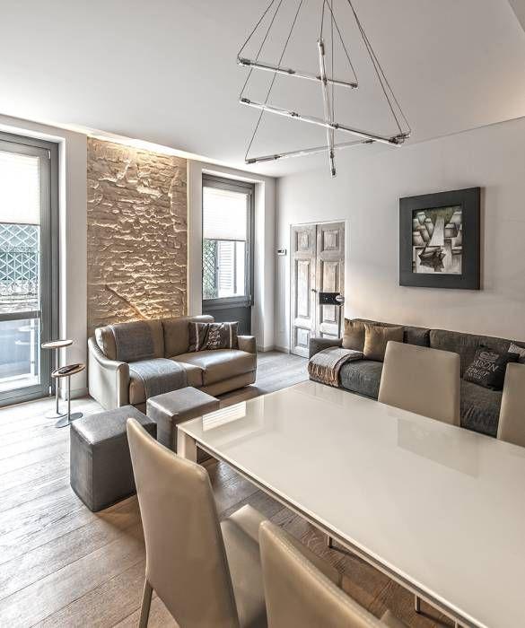 Foto di soggiorno in stile in stile moderno : 66 metri quadri ...