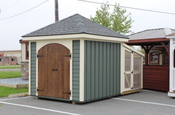 Photo Gallery Of Quality Amish Built Sheds Backyard Structures Roof Architecture Modern Roofing