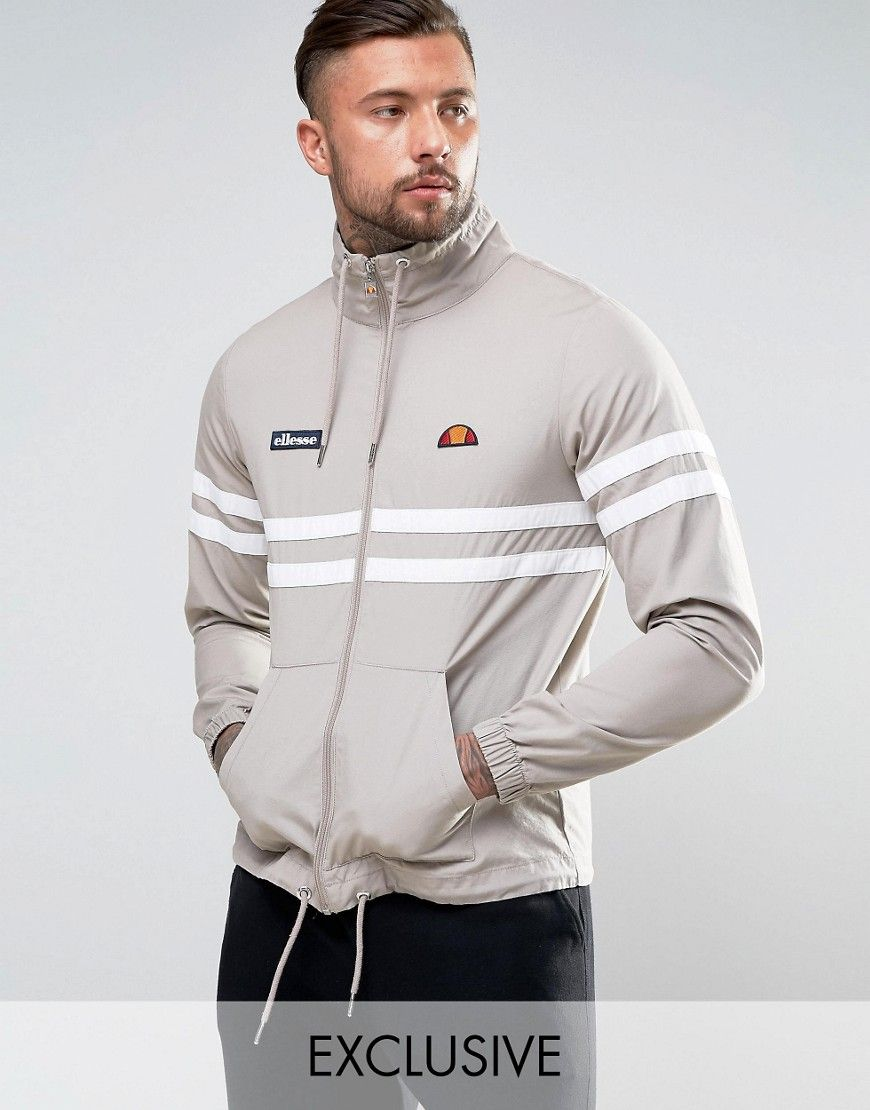 Get this Ellesse's turtleneck t-shirt now! Click for more details. Worldwide shipping. Ellesse Jacket With Turtle Neck - Stone: Jacket by Ellesse, Smooth woven fabric, Turtle neck with drawstring, Zip placket, Side pockets, Fitted cuffs, Drawstring hem, Regular fit - true to size, Machine wash, 100% Cotton, Our model wears a size Medium and is 192cm/6'3.5 tall, Exclusive to ASOS. When Leonardo Servadio couldn�t find what he wanted to wear on the slopes, he made it. Channelling his…