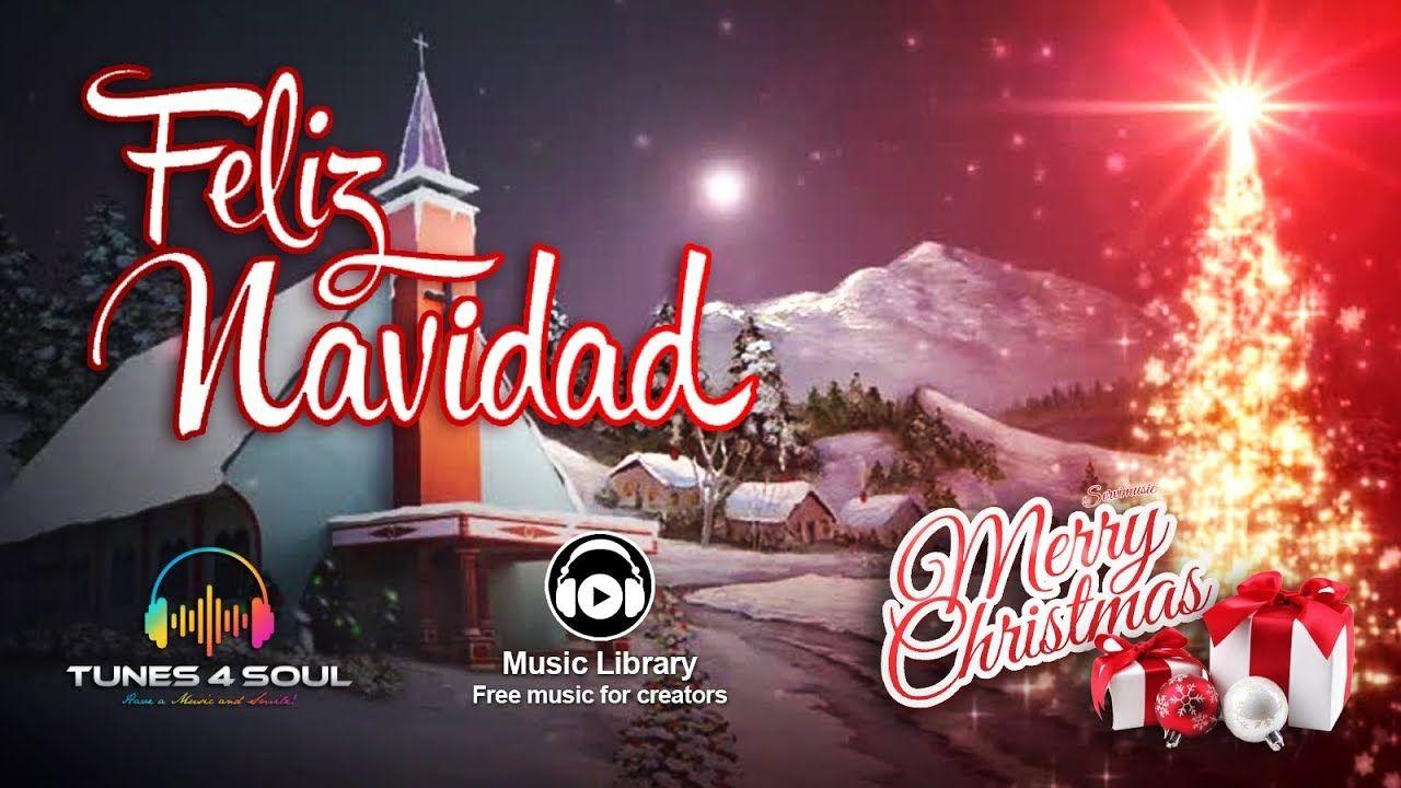 Nielsnet Feliz Navidad Merry Christmas Remix Lyric Video No Copyr Happy Merry Christmas Soul Music Music Library