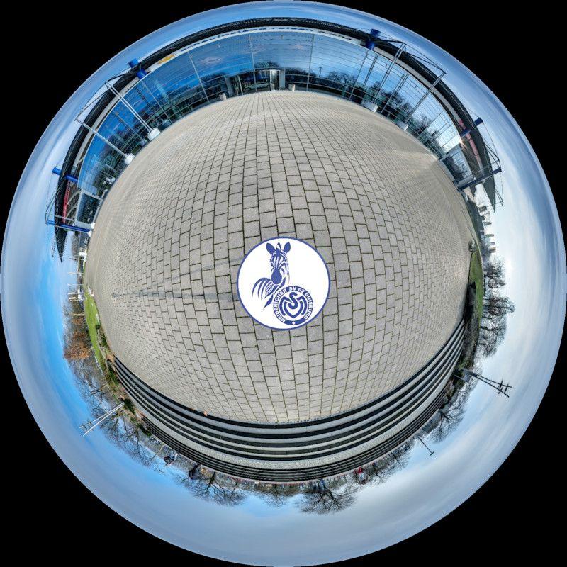 Virtueller Rundgang Durch Die Heimstatte Der Zebras Vom Msv Duisburg Die Schauinsland Reisen Arena Schauinsland Reisen Msv Duisburg Schauinsland