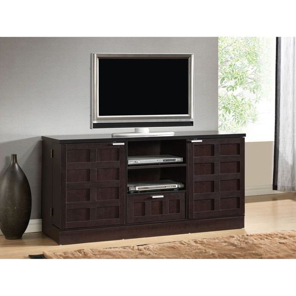 Tosato Brown Modern TV Stand and Media Cabinet 220 | L&W - Danyu's ...