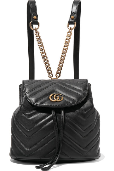 05c7abbfc7715f Gucci - GG Marmont quilted leather backpack | s a r t o r i a l ...