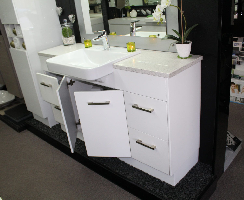 Vanity Bathroom Brisbane bathroom vanity with semi recessed basin - google search