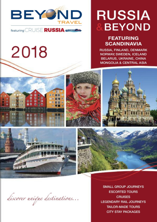 Beyond Travel Russia & Beyond 2018 brochure | Travel, Asia